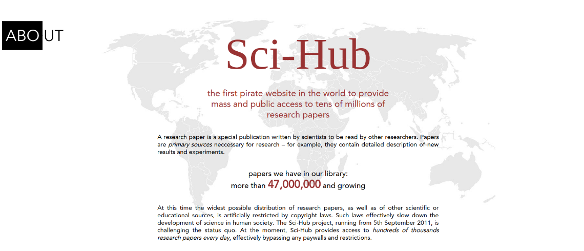Sci-Hub has over 47,000,000 papers, and counting...