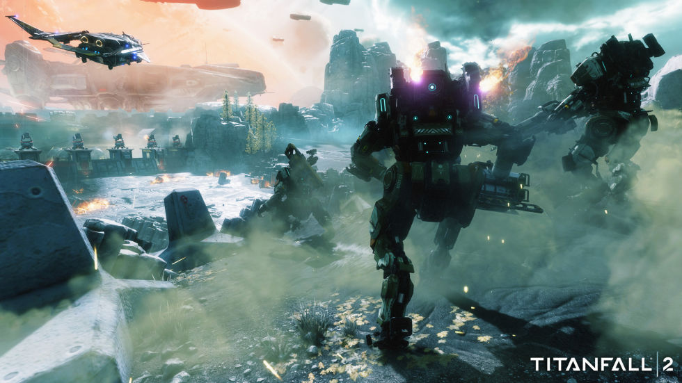 Titanfall 2: Proof that grappling hooks make everything better