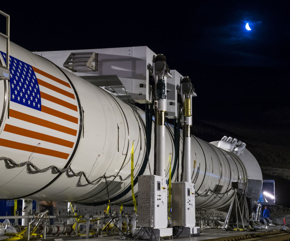 NASA's supersized rocket passes a key test in northern ...