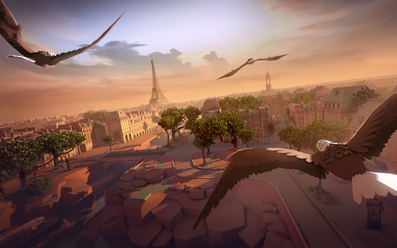 Ubisoft's <i>Eagle Flight</i> is a rare new VR property from a major gaming publisher.