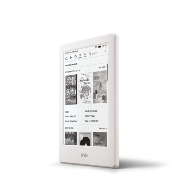 Amazon's new Kindle is only $80 and comes in white