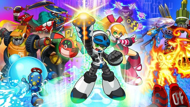 In the end, Mighty no. 9's launch couldn't live up to the optimism that's all over this colorful art.