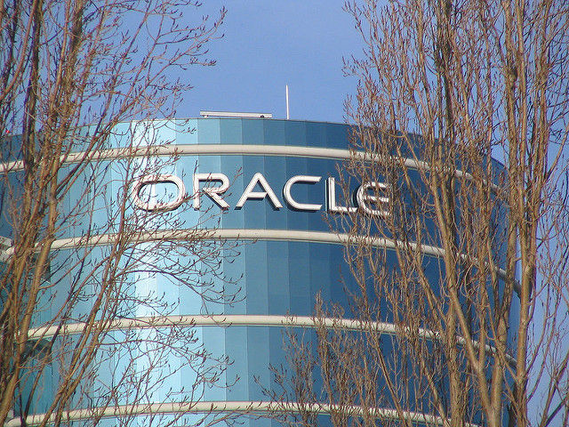 oracle stock price today