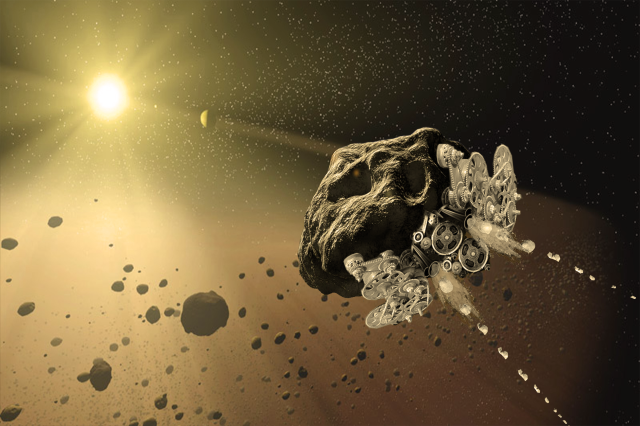 Made in Space is developing a concept to turn an asteroid into a self-propelling spacecraft.