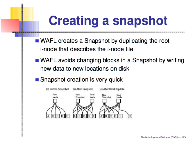 "NetApp alleged ZFS had some features that were a little too much like its own <a href=""https://en.wikipedia.org/wiki/Write_Anywhere_File_Layout"">WAFL</a> proprietary file system, found in NetApp's enterprise disk arrays."