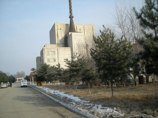 The Yongbyon nuclear facility in North Korea—back in business and making plutonium, based on IAEA analysis.