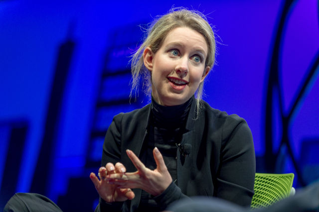 Elizabeth Holmes is the founder and CEO of Theranos.