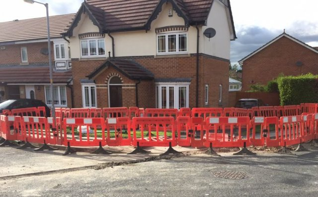Virgin Media red-faced after workers dig trench, block house, and disappear