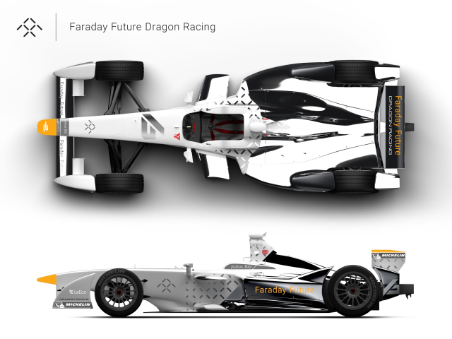 Electric car startup Faraday Future partners with Dragon Racing for