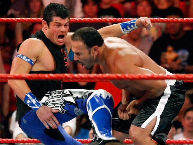 WWE wrestler Chavo Guerrero, Jr (right) is among the 53 plaintiffs in a proposed class-action lawsuit filed in Connecticut on Monday.