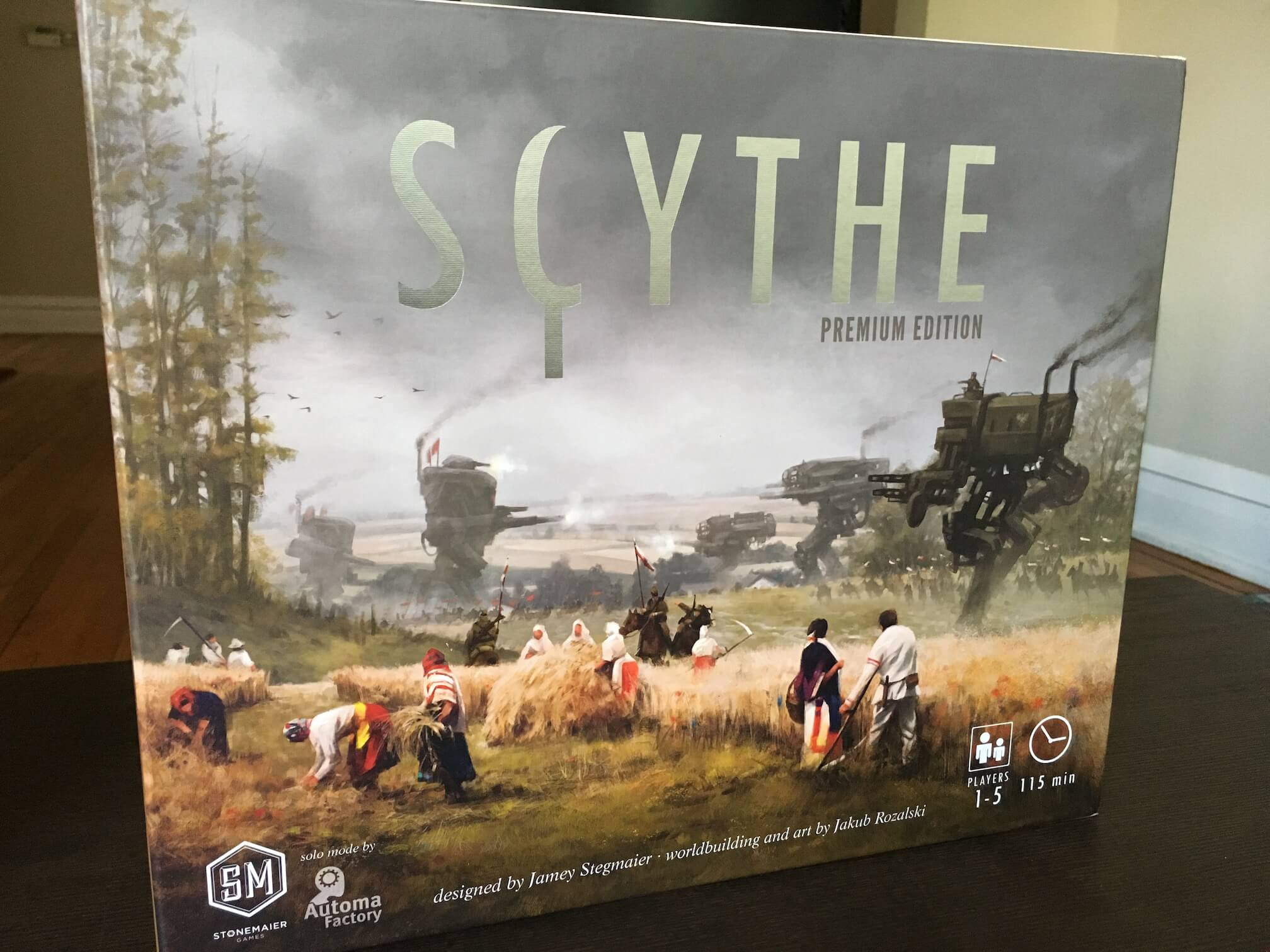 Scythe review: The most-hyped board game of 2016 delivers