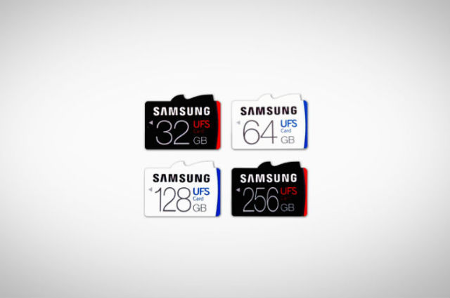 Samsung introduces world's first UFS cards: Move over MicroSD