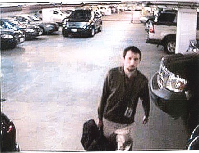 Shaun Bridges was captured by CCTV security cameras, leaving a Secret Service field office with a large bag. The government said the bag may have contained hard drives with keys needed to access his Bitstamp wallet.