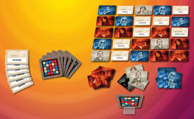 The incredibly popular <em>Codenames</em>.