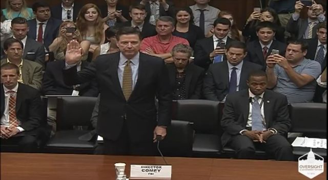 House Oversight Committee grills Comey over Clinton e-mail findings
