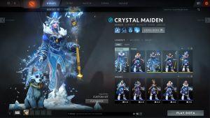 My Crystal Maiden sports the $34.99 Arcana.