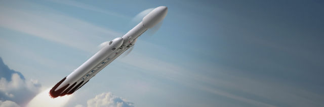 SpaceX, preparing for Falcon Heavy, asks for more landing pads