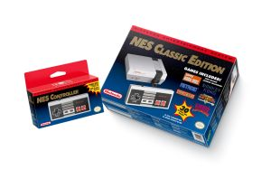 The NES Classic Controller will also work via a Wii Remote with the Wii and Wii U Virtual Consoles.