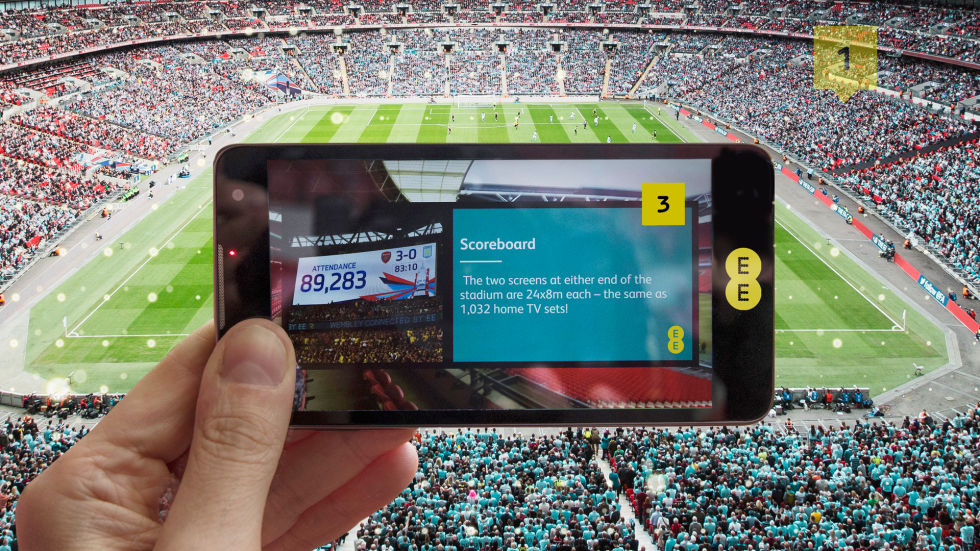 Wembley's new AR SmartGuide app could be the tour guide of the future