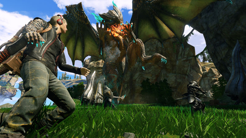 I'm still not sure what Scalebound is—but I definitely want it