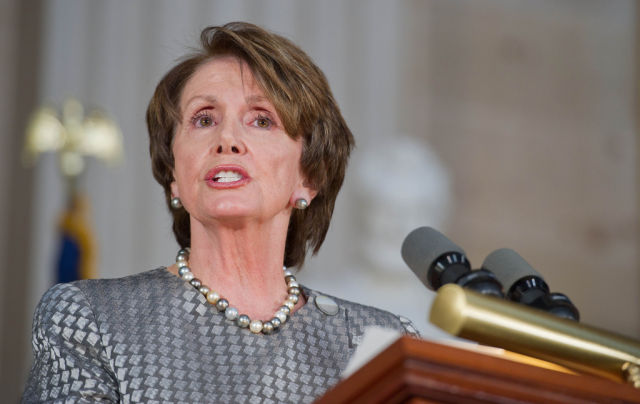 Rep. Nancy Pelosi (D-CA) is a member of the Gang of Eight.