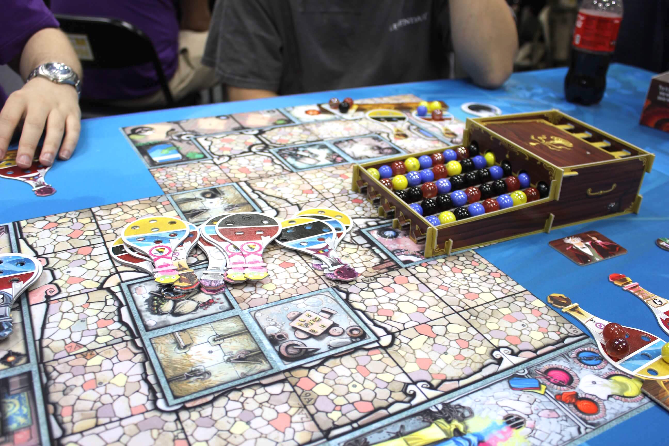 Game board colors - Enlarge Potion Explosion Is Like Bejeweled The Board Game