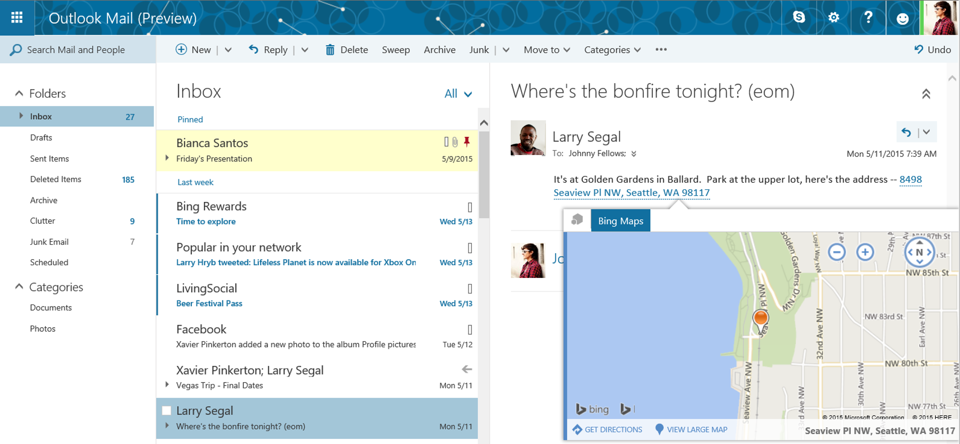 how to make a fancy email in outlook