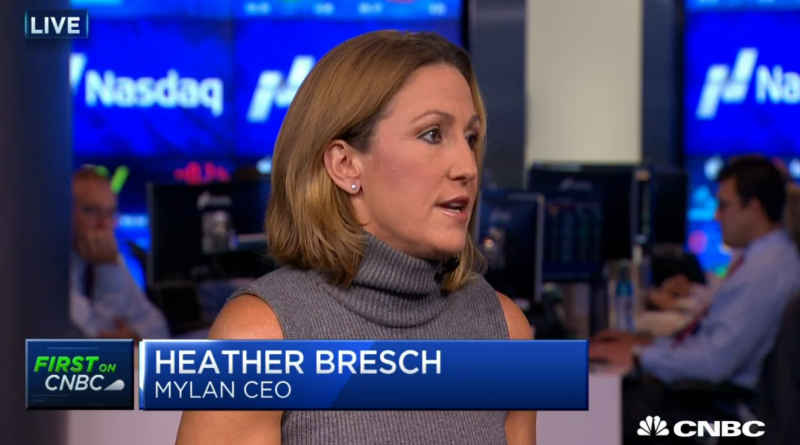 "Mylan CEO ""frustrated"" by own price gouging but doesn't lower EpiPen price"
