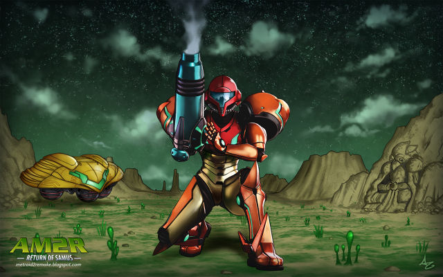 Fan-made Metroid 2 remake celebrates series' 30th year before Nintendo does [Updated]