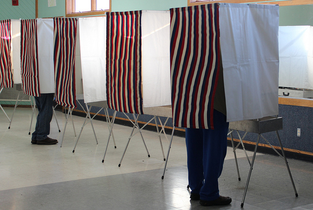 Selfies in voting booths: Depending on where you live, they may be illegal