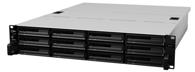 Synology announces two new rackmount storage appliances—one small, one bigger