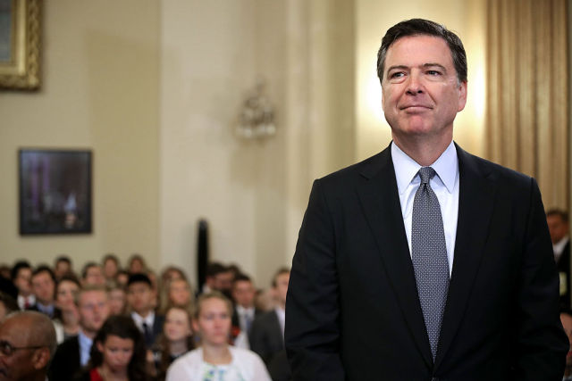 "FBI chief Comey: ""We have never had absolute privacy"""