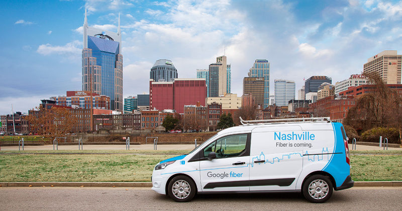 Google Fiber says it hasn't gotten access to 44,000 poles in Nashville