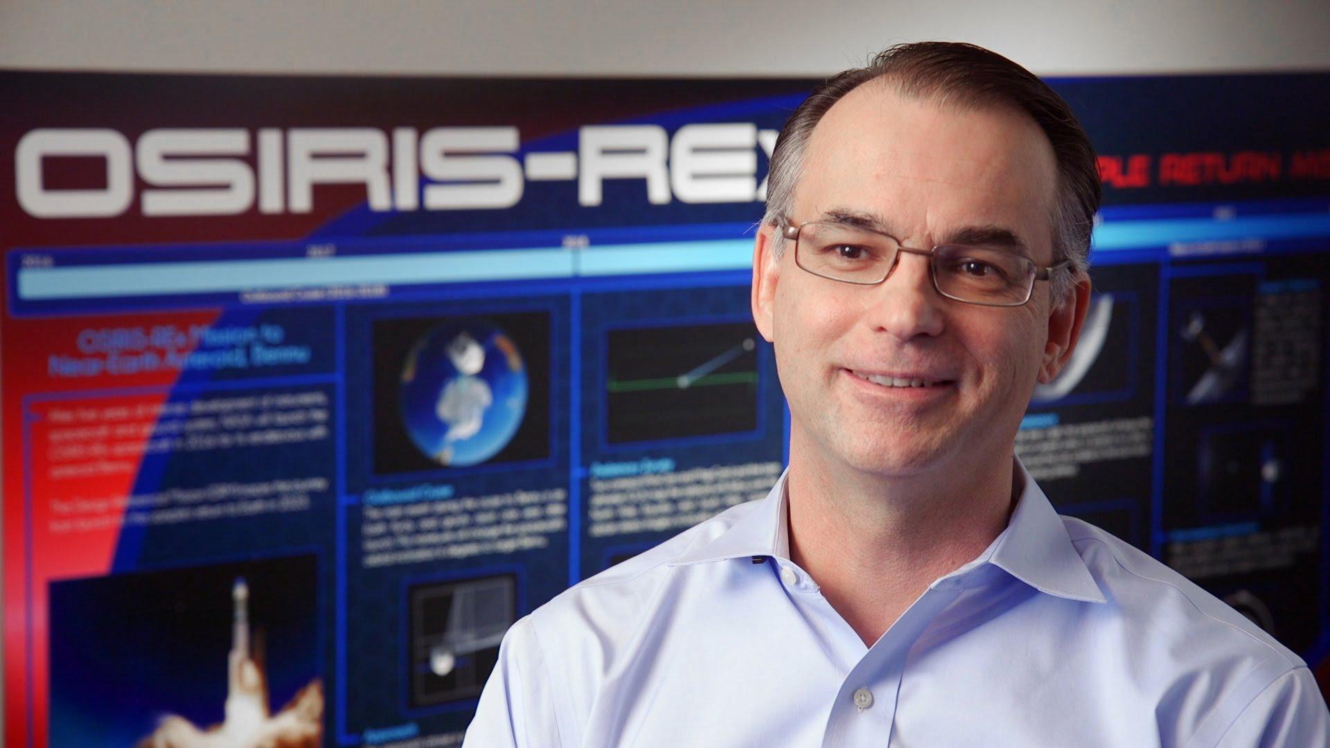 Dante Lauretta. Asteroid scientist. OSIRIS-REx principal investigator.
