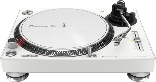 Pioneer's PLX-500 turntable offers SL-1200 performance on the cheap