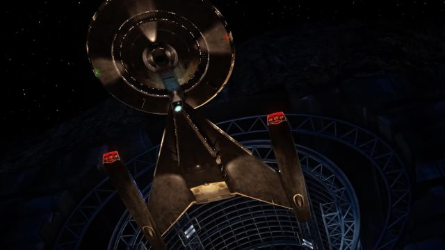 This CG model of the USS <em>Discovery</em> is pretty much all there is to see about CBS' newest <em>Trek</em>.