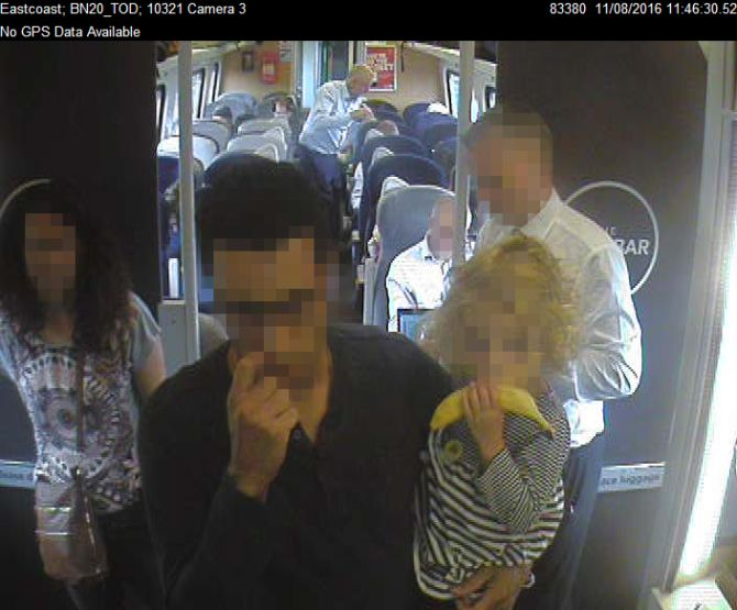 """Virgin releases CCTV images of Corbyn in spat over """"ram-packed"""" trains claim"""