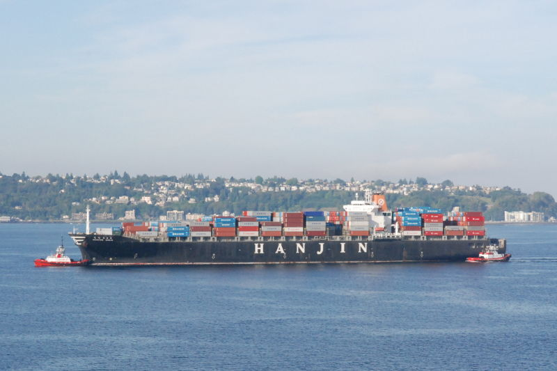 Prepare to see less activity on Hanjin ships thanks to a bankruptcy filing this week.