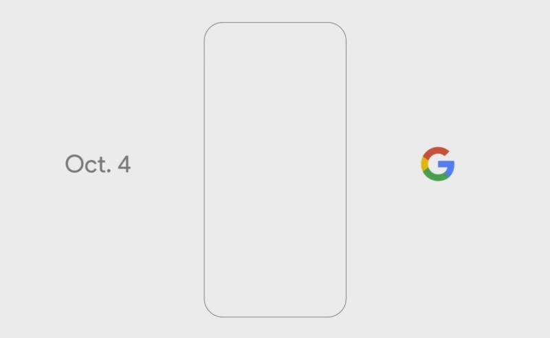 Google's event invitation.