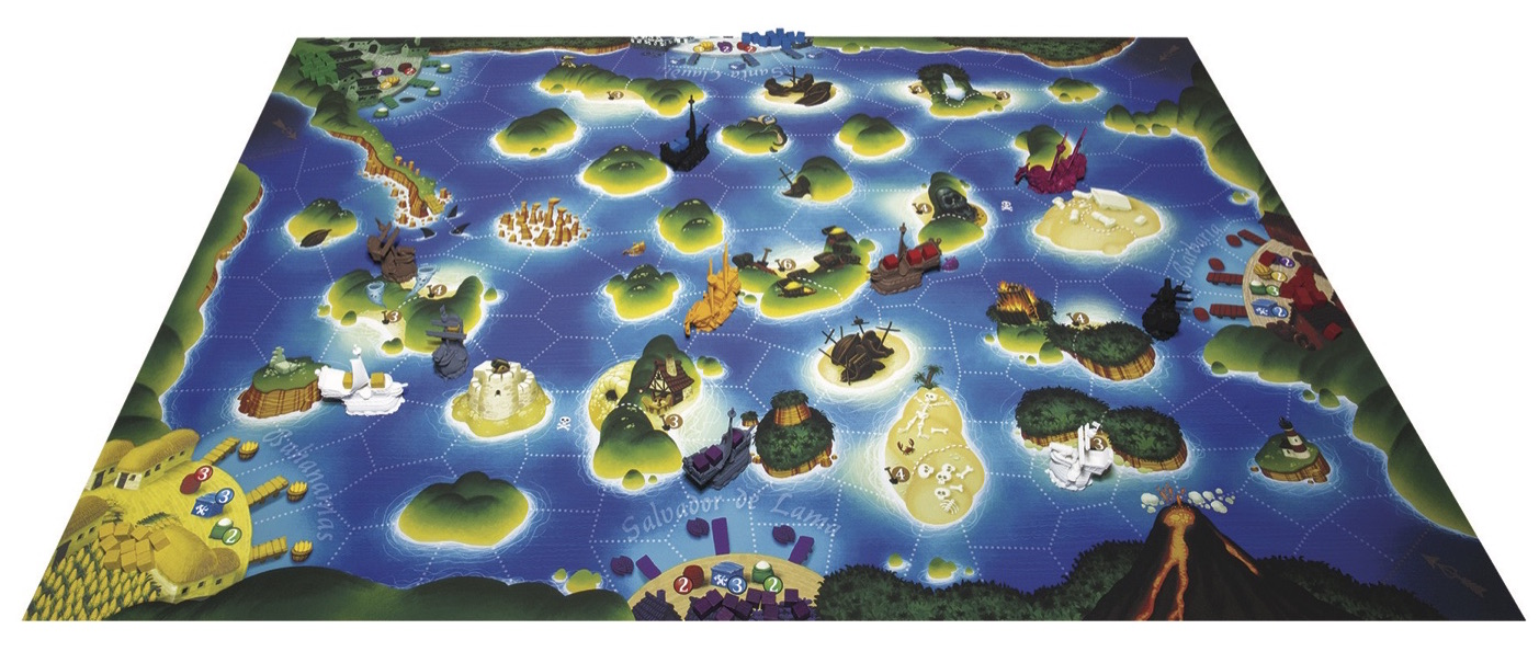 Scurvy Dogs Board Game