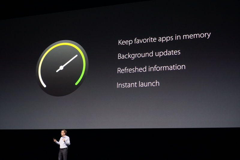 Apple outlined the core benefits of WatchOS 3 at WWDC in June.
