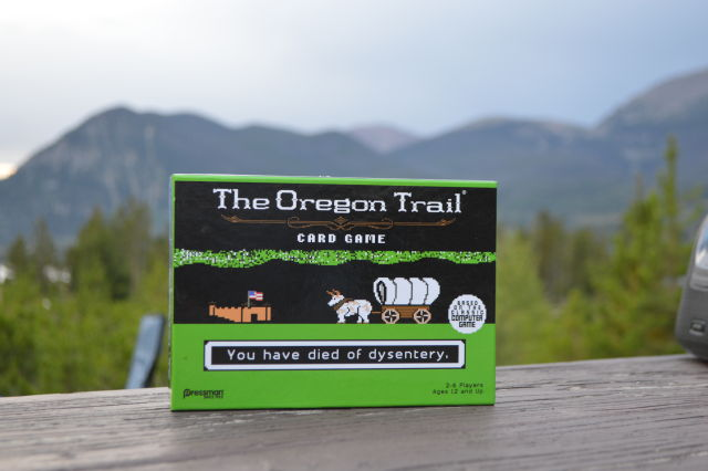 Oregon Trail Card Game: Simple, repetitive, and you'll die
