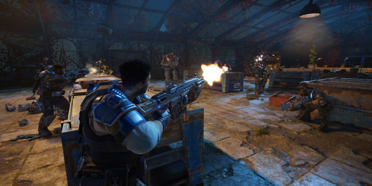 PC players can destroy Xbox One players in Gears of War 4 this weekend