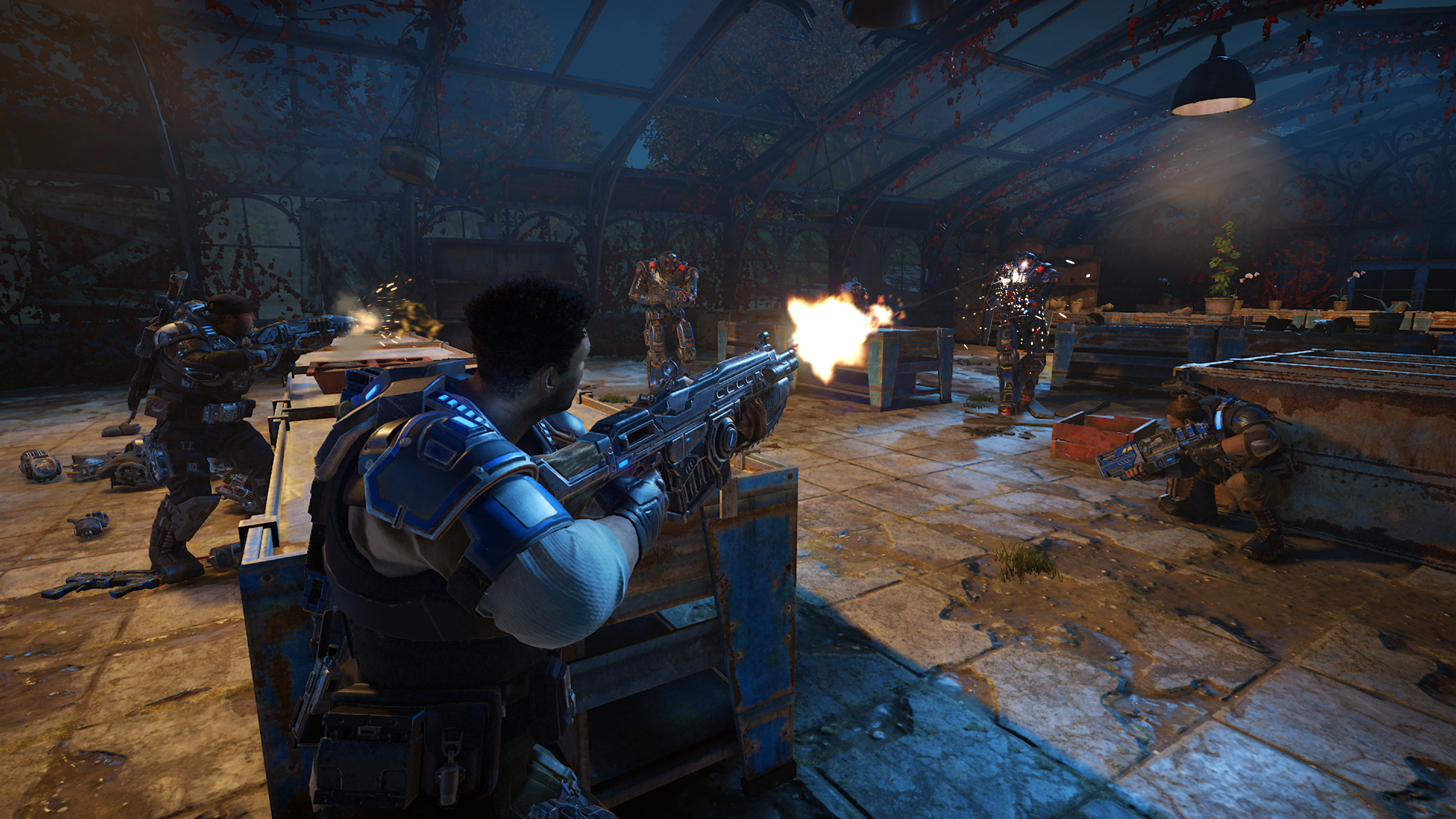 PC players can destroy Xbox One players in Gears of War 4 this