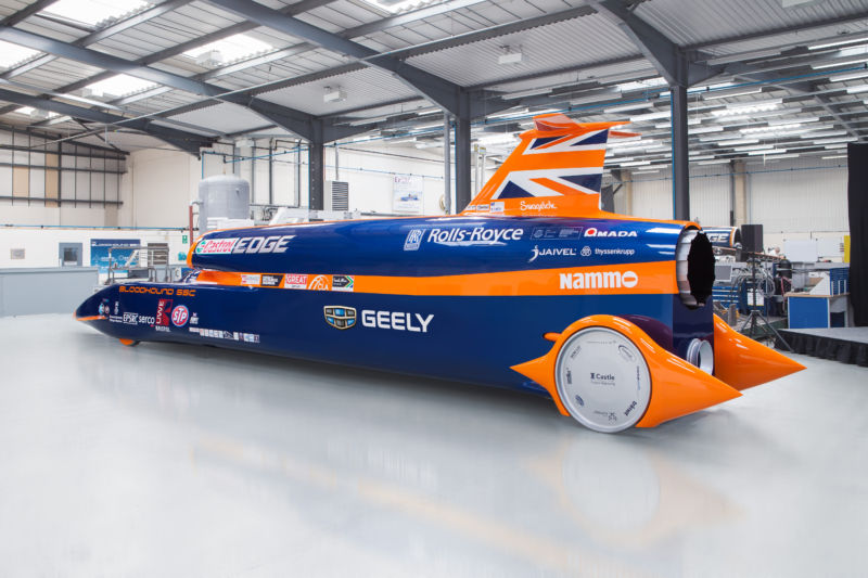 1,000mph car gets major funding boost