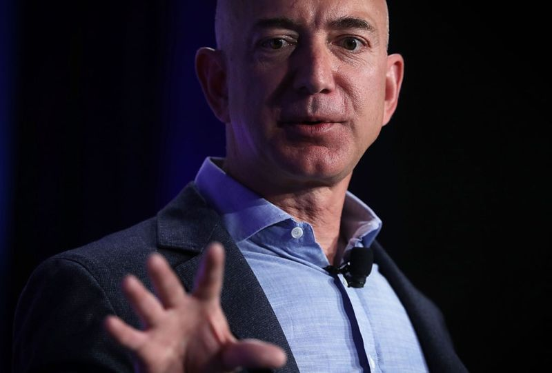 Jeff Bezos, founder and chief executive of Amazon.com, in May,