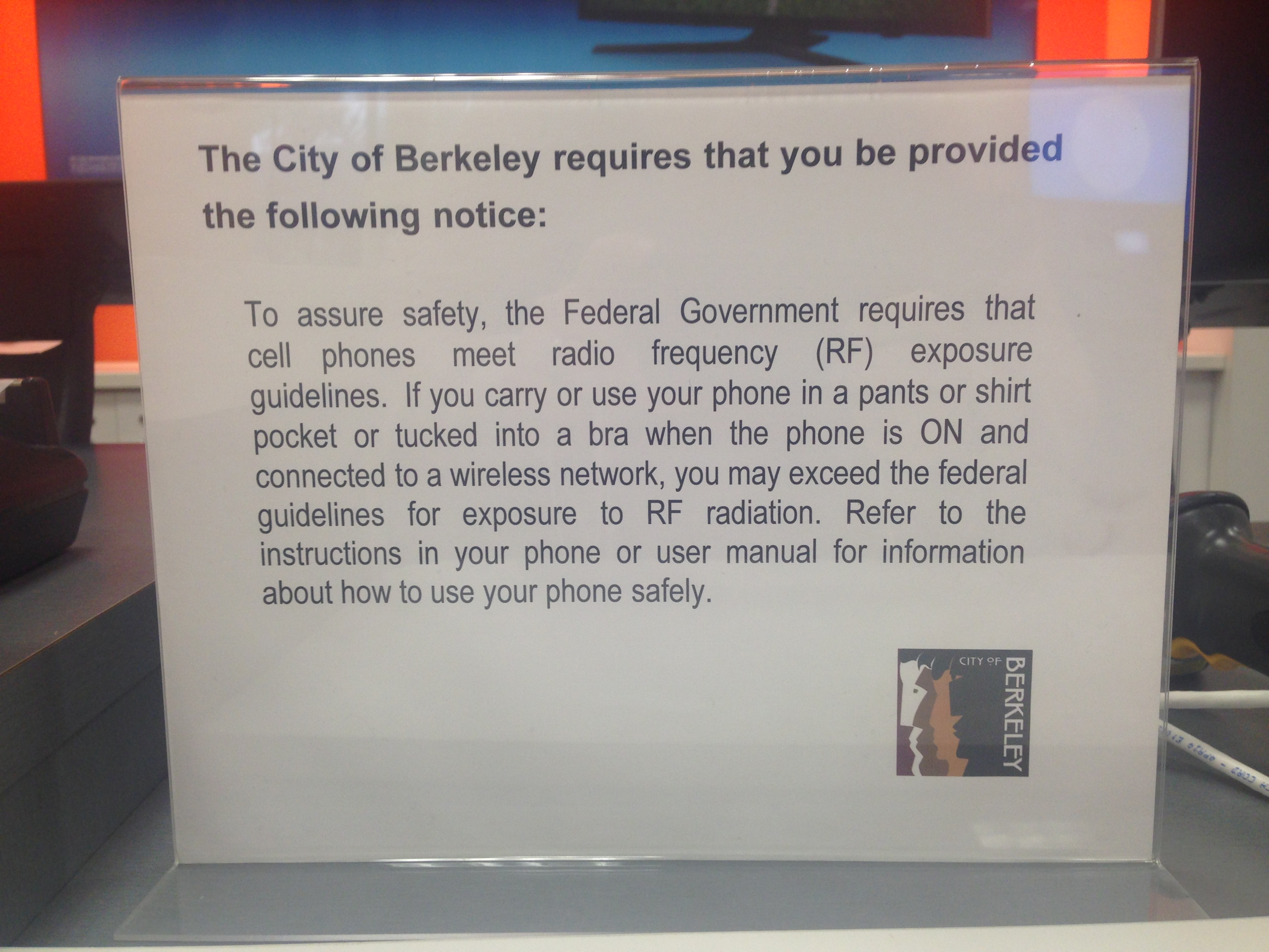 Mobile industry loses its bid to stop berkeleys cellphone warning enlarge sciox Gallery