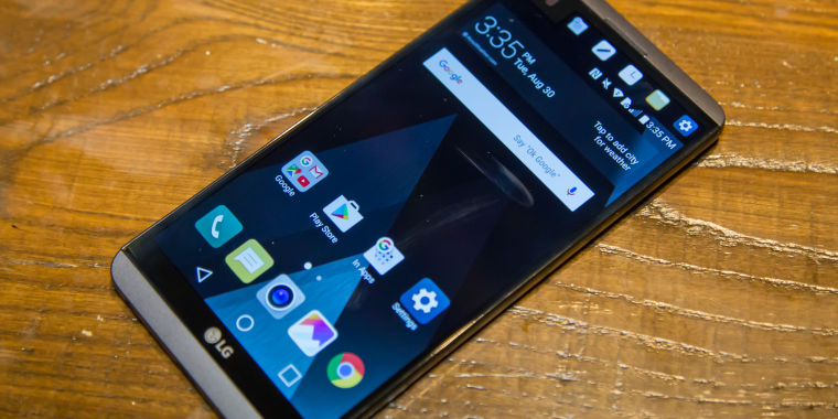 The LG V20 rights the wrongs of the LG G5