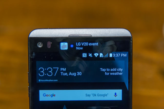 The LG V20 rights the wrongs of the LG G5 | Ars Technica