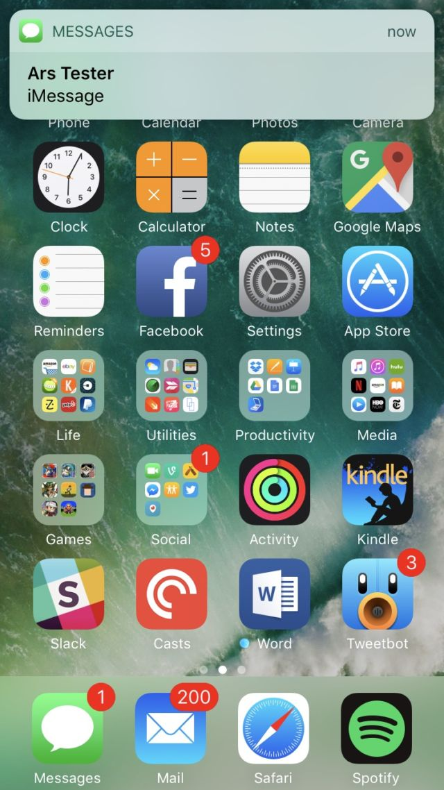iOS 10 reviewed: There's no reason not to update   Ars Technica